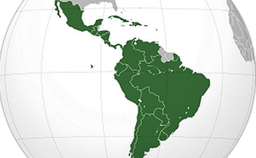Latin America. Source: Wikipedia Commons.