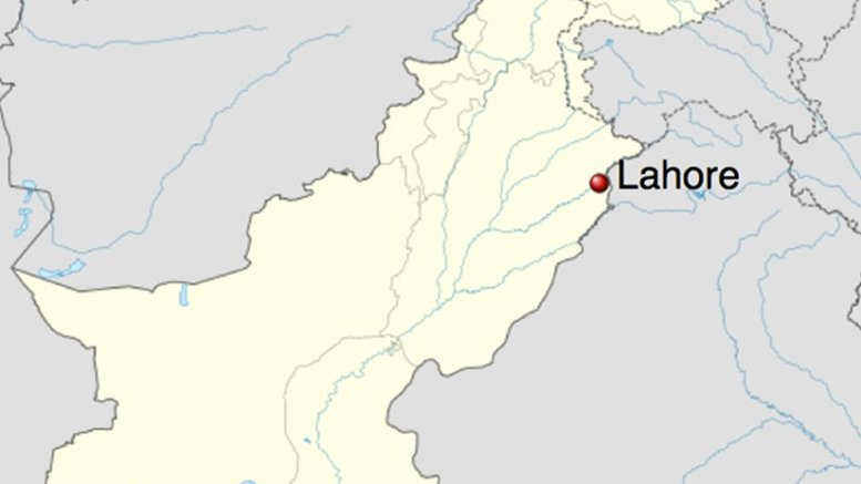 Location of Lahore in Pakistan. Source: Wikipedia Commons.