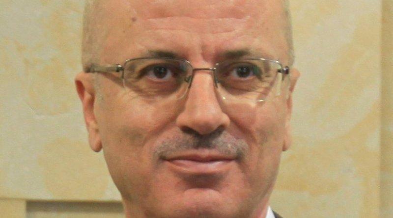 Palestinian Prime Minister Rami Hamdallah. Photo by محمد الفلسطيني, Wikipedia Commons.