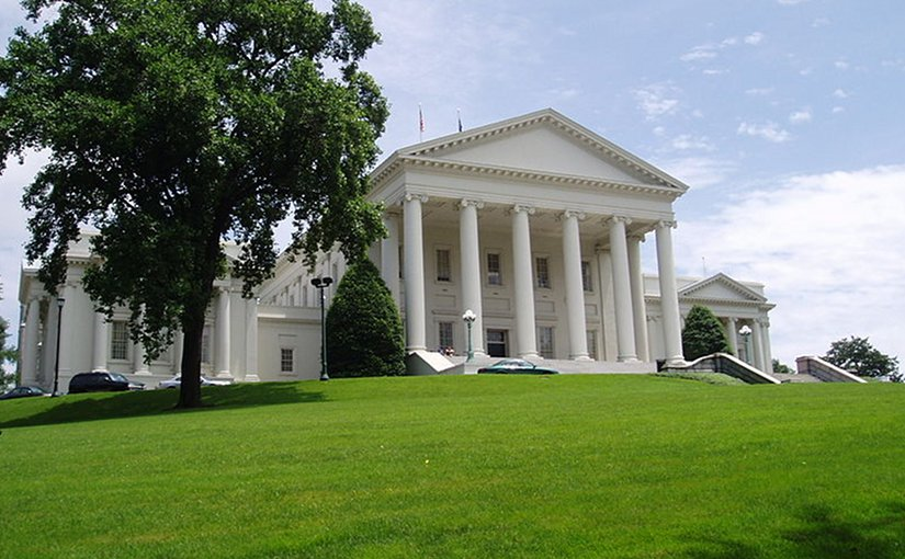 Virginia State Capitol. Photo by Anderskev, Wikipedia Commons.