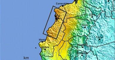 Location of 2016 Ecuador earthquake. Source: United States Geological Survey