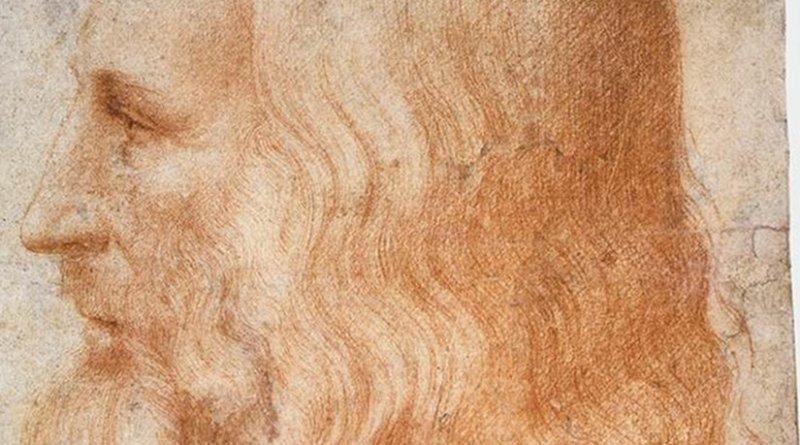 Leonardo da Vinci, portrait by Francesco Melzi, Source: Wikipedia Commons.