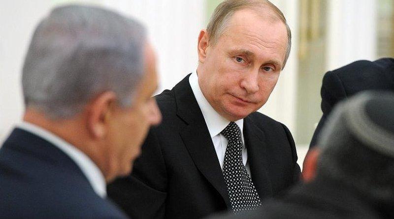Russia's Vladimir Putin and Israel's Benjamin Netanyahu. Photo Credit: Kremlin.ru