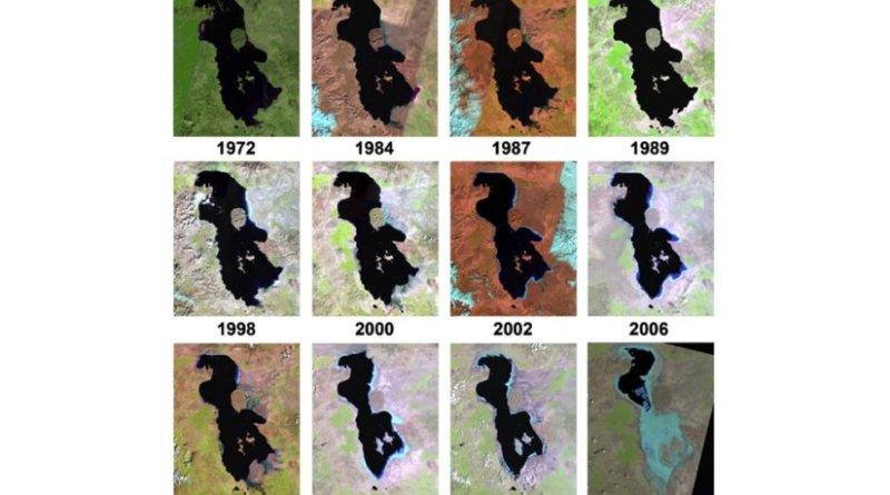 Iran's Lake Urmia