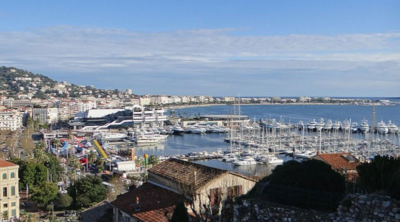 Cannes, France. Photo by MOSSOT, Wikipedia Commons