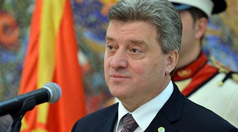 Macedonia's President Gjorge Ivanov | Photo Credit: president.gov.mk