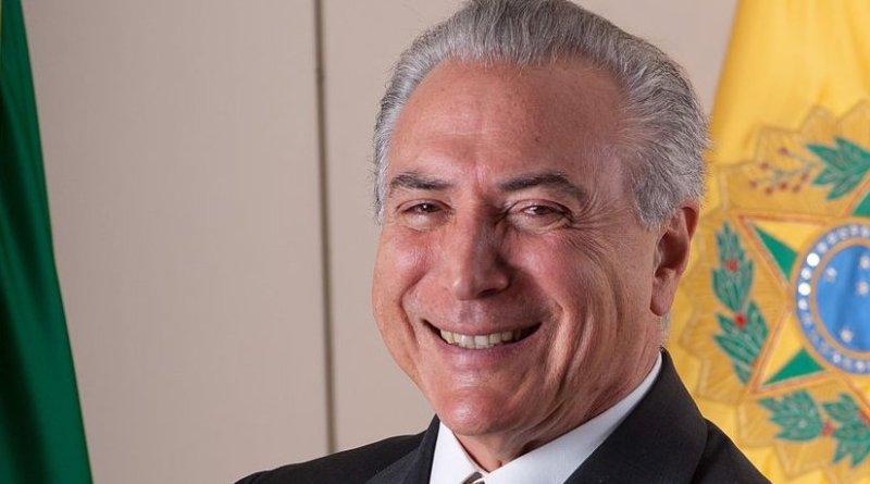 Brazil's Michel Temer. Photo by Licurgo Miranda, Wikipedia Commons.