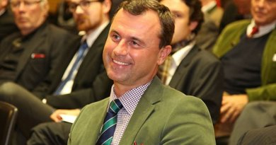 Austria's Norbert Hofer. Photo by Franz Johann Morgenbesser, Wikipedia Commons.