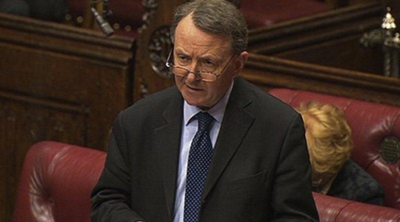 Lord Alton of Liverpool speaking in the House of Lords. Photo Credit: DHI