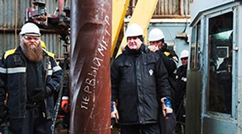 Rosneft commenced operational drilling at the Lebedinskoye oil and gas condensate field in the Sea of Okhotsk. Photo Credit: Rosneft