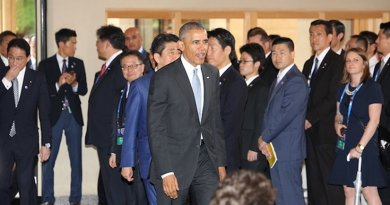 President Obama at Ise Grand Shrine. Source: G7 Summit 2016 Japan Website