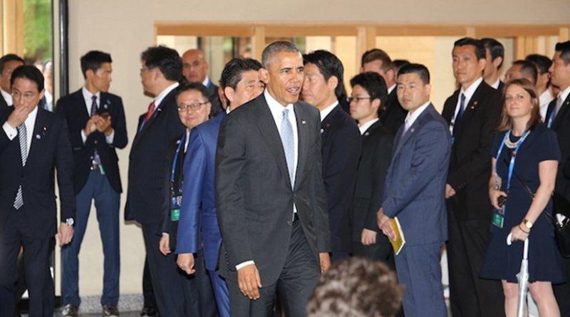 President Obama at Ise Grand Shrine. Source: G7 Summit 2016 Japan Website