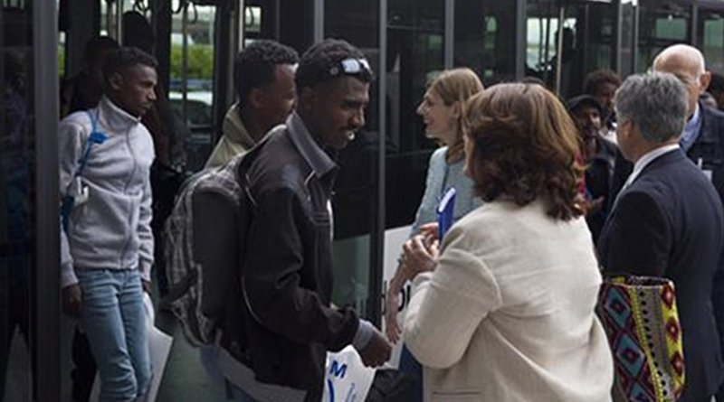 Refugees arriving in Spain. Photo Credit: Ministerio del Interior