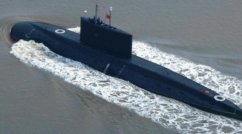 China submarine. Photo by Took-ranch, Wikipedia Commons.