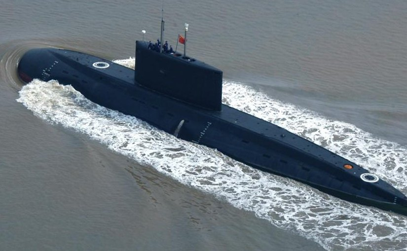 China submarine. Photo by Took-ranch, Wikipedia Commons.