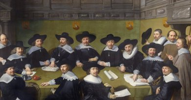 The city council of The Hague deliberating in 1636, Painting by Jan Antonisz. van Ravesteyn.