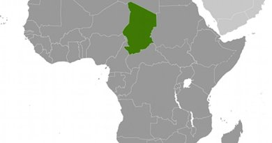 Location of Chad. Source: CIA World Factbook.