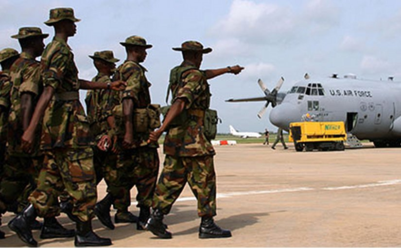 Nigerian troops. Photo: US State Department, Wikipedia Commons.