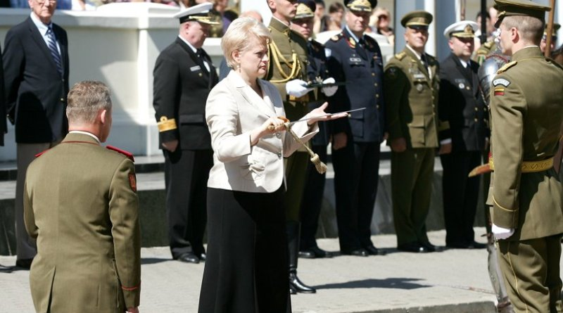 Lithuania's Dalia Grybauskaite. Source: Kapeksas, Wikimedia Commons.