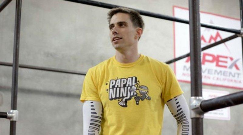 Sean Bryan, the Papal Ninja. Photo Credit: Christopher Silva, courtesy of Sean Bryan.