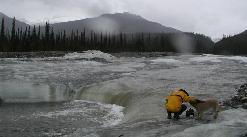 To better understand the impact of methane and carbon dioxide on climate change, ecologist Evan Kane samples thawing permafrost in Alaska. Credit Michigan Tech, Evan Kane