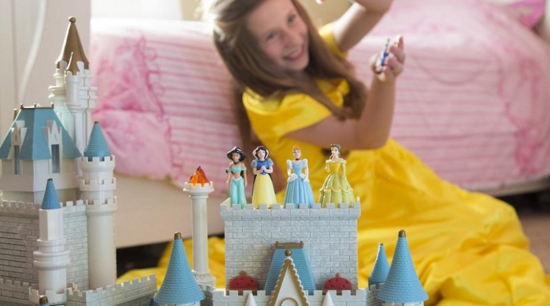 Children don't have to completely disengage with princess culture, but parents should foster a wide variety of interests and talk to their kids about media influences, according to new research from BYU. Credit: Mark A. Philbrick/BYU