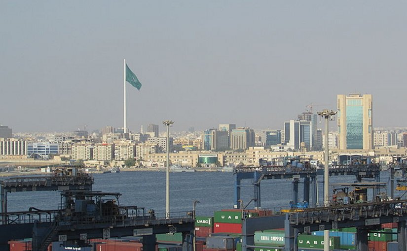 Jeddah, Saudi Arabia. Photo by Gregor Rom, Wikipedia Commons.