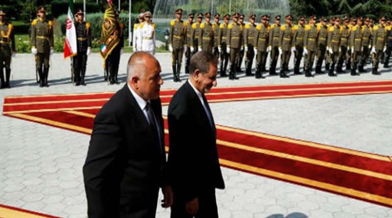 Bulgaria's Prime Minister Boyko Borissov and Iran's Vice-President Eshaq Jahangiri in Tehran. Source: Facebook