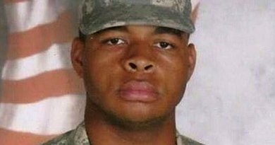Micah Xavier Johnson in 2009. Photo Credit: US Army