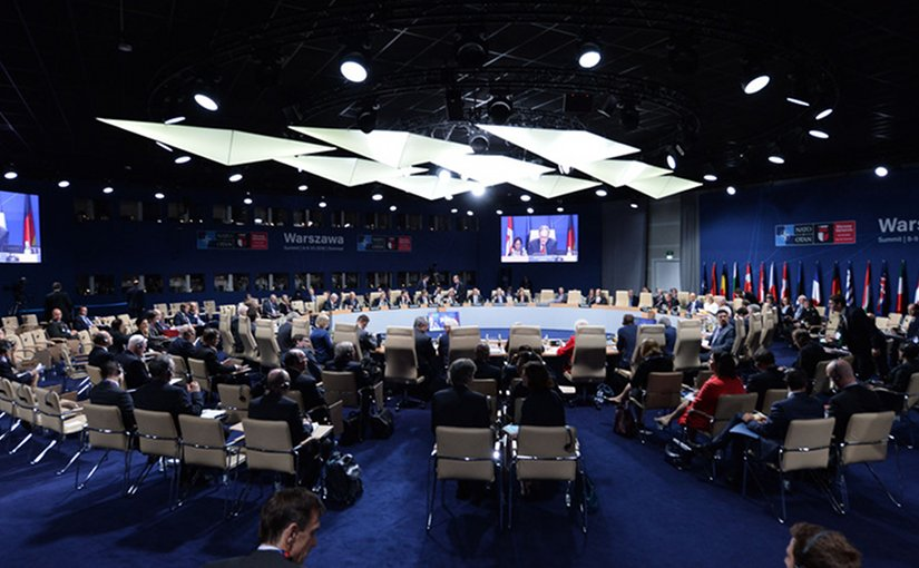 NATO-Georgia Commission meeting at the level of foreign ministers at the NATO Summit in Warsaw, July 8, 2016. Photo: NATO