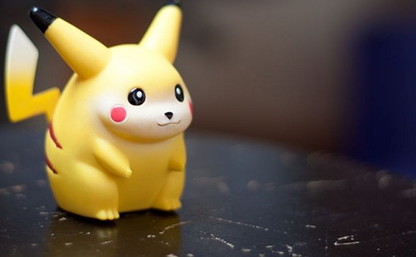 Pikachu. Credit: etnyk via FLickr (CC BY NC ND 2.0).