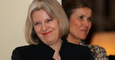 United Kingdom's Theresa May. Photo US Embassy London.