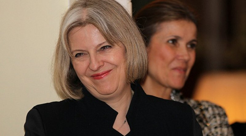 United Kingdom's Theresa May. Photo US Embassy London.