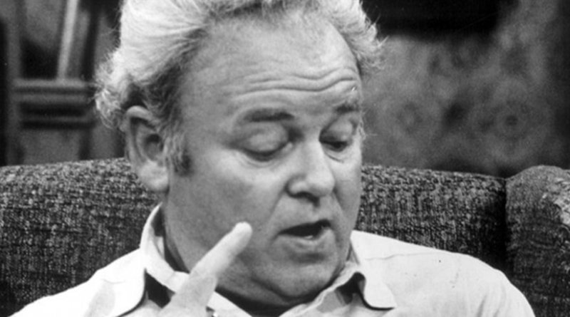 """""""Archie Bunker' in CBS Television press release is dated 26 November 1975. Wikipedia Commons."""