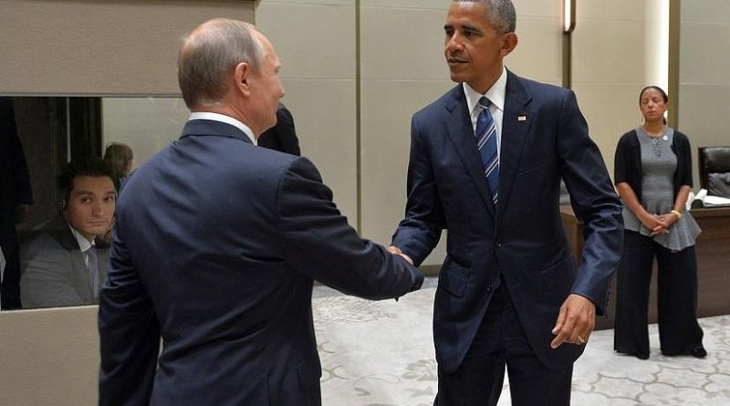 Russia's Vladimir Putin and United States' Barack Obama at the G20 Summit in Hangzho. Photo Credit: Kremlin.ru