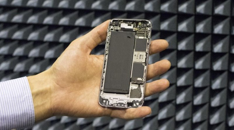 The phone's antennas are placed in the top and bottom, which means that the phone's touch screen does not cover the entire phone. With the help of new developed method the antennas need less space and the phone display can be made larger and the phone design can be more free. Credit Aalto University
