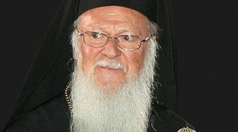 Head of the Eastern Orthodox Church Patriarch Bartholomew I. Photo by Massimo Finizio, Wikipedia Commons.