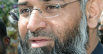 Anjem Choudhary, 49, founder of Sharia4UK convicted for supporting the Islamic State. Source: WIkipedia Commons.