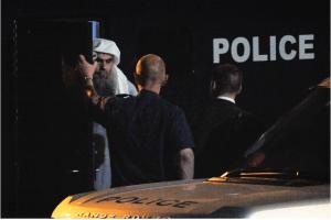 Abu Qatada al-Filistini was held in Belmarsh and Long Lartin prisons on immigration charges.