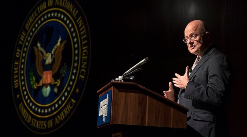 James Clapper. File photo by Jay Godwin, Wikipedia Commons.