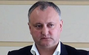 Moldova's Igor Dodon. Photo by Privesc.Eu Moldova, Wikipedia Commons.