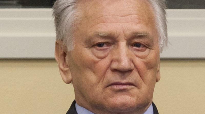 Momčilo Perišić. Photo Credit: ICTY staff, Wikipedia Commons.