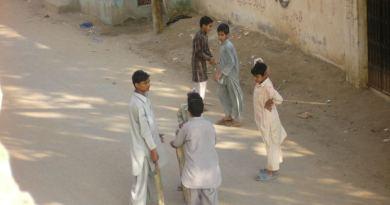Children in Karachi, Pakistan.