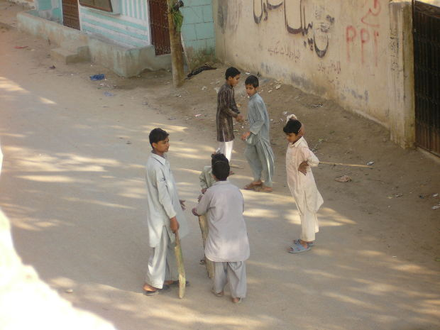Children in Karachi, Pakistan.