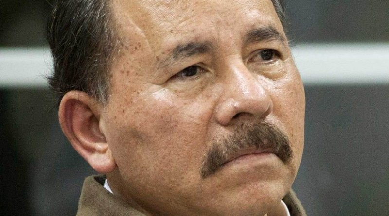 Nicaragua's Daniel Ortega. Photo by Fernanda LeMarie - Cancillería del Ecuador, Wikipedia Commons.