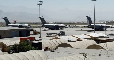 Bagram Airfield, Afghanistan. File photo by U.S. Air Force photo/Senior Airman Felicia Juenke.