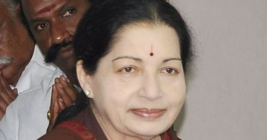 India's J. Jayalalithaa. Photo by Prakashfotos, Wikipedia Commons.