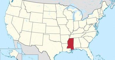 Location of Mississippi. Credit: Wikipedia Commons.