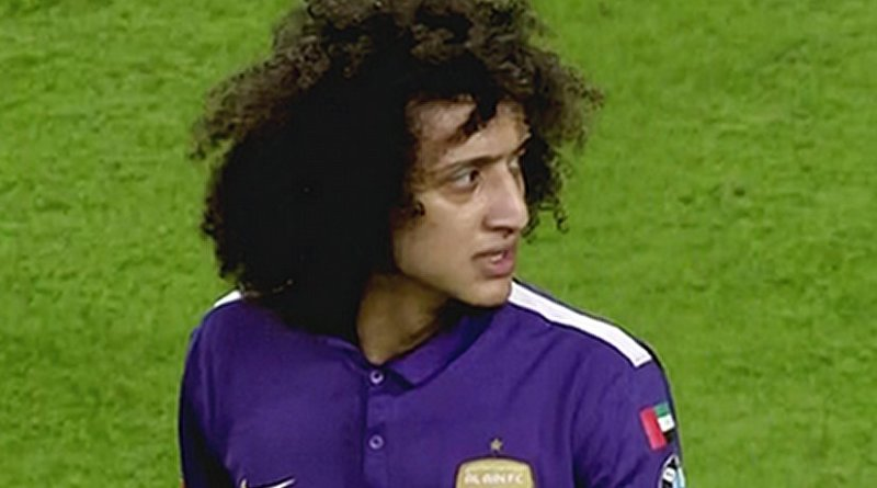 UAE's Omar Abdulrahman. Photo by Sm3a, Wikipedia Commons.