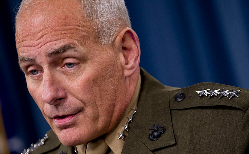 US Gen. John F. Kelly. DoD photo by Mass Communication Specialist 1st Class Chad J. McNeeley, Wikipedia Commons.